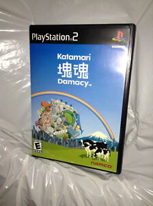 Katamary Damacy for PS2, extremely rare, pristine condition