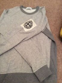 Boys immaculate stone island sweater bargain