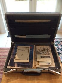Samsonite Vintage hard briefcase.