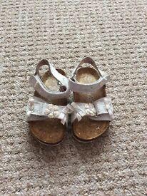 Next girls sandals size 4 excellent condition worn once