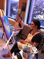 Social Painting Parties - Sudbury's First!