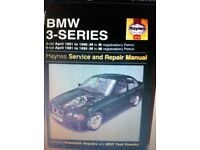 Haynes Manual, BMW 3 Series 91-96