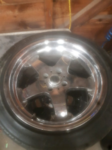 4 bolt ford 17in rims