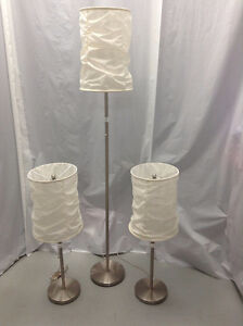 Ensemble de 3 lampes
