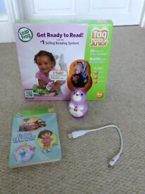 Tag Junior Leap Reader with 6 books
