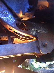 Réparation Frame camion Jeep