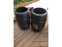 120l water butts £8 each