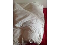 Goose Feather and Down Double Mattress Topper