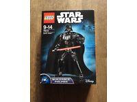 Lego Star Wars buildable figures DARTH VADER