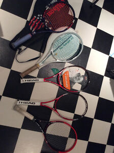 Tennis Racquets (Players Frames) For Sale (Head, Wilson)