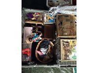 Job lot vintage dolls , jigsaws smalls etc £20 the lot