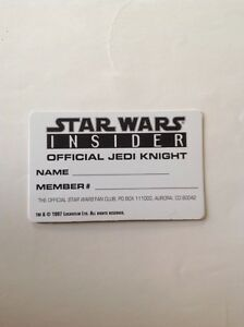 Star Wars sticker and blank member card London Ontario image 3