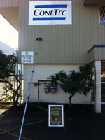 Sign Cleaning Up To 40 Ft (No Ladders Or Chemicals)