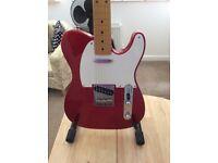 Fender telecaster MIJ candy apple red