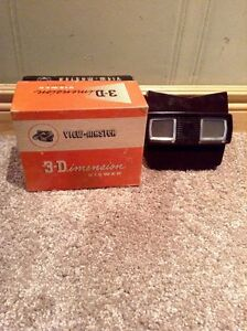 1955 vintage View Master 3-D View Master with 16 disks --NEW PRI Kitchener / Waterloo Kitchener Area image 1