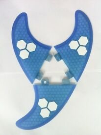 Surfboard Fins Honeycomb G5/M5 Template New! Set of 3 FCS Compatible surf fins Hexcore