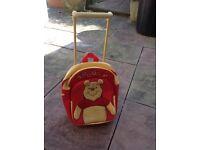 Winnie the Pooh wheeled rucksack