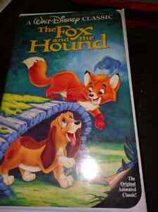 The Fox and The Hound and The Jungle Book VHS Strathcona County Edmonton Area image 2