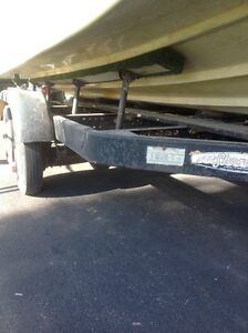 Tandem axle trailer for14 to 19 ft boat Windsor Region Ontario image 2