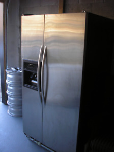 "FRIDGE KITCHENAID SUPERBA, 36"",  SIDE BY SIDE, STAINLESS"