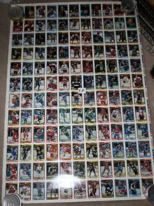4 sheets 90-91 OPC O-Pee-Chee Hockey Uncut Sheet 132 Cards Kitchener / Waterloo Kitchener Area image 5