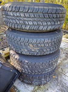 Mud/Snow FUZION SUV : 225/75R16 108T XL (OWL) Tires