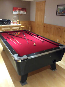 Table de pool - billard dynamo
