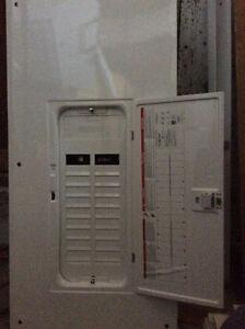 Panneau d'entrée électrique HOMELINE 200 Amp  40 Circuits