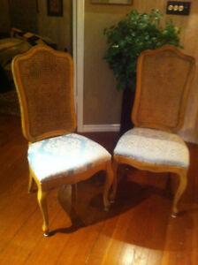 4 sturdy elegant dining room chairs - perfect for entertaining