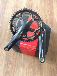 Cyclocross Double FSA Omega crankset 175mm 46/36T 110 BCD