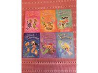 The Secret Mermaid Sue Mongredien 6x paperbacks as new