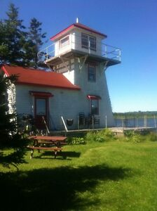 Unique lighthouse cottage