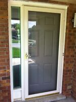 Screen storm door
