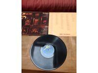 Original ABBA The Visitors vinyl record