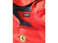 Ferrari fleece hoodie original apparel