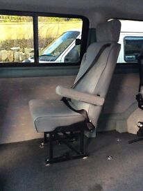 Rear single fixed seat from VW T5