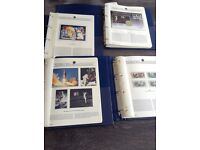 Set 4 binders of The Space Exploration Collection