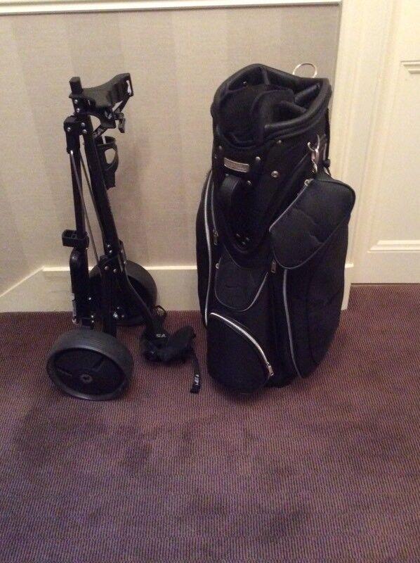 Nike ladies trolley golf bag plus trolley