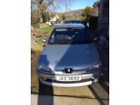 Silver Peugeot 306 2l hdi