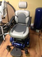 Electric wheel chair by Golden Compass