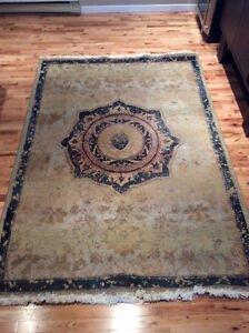 Area Rug: 91 inches x 63 inches