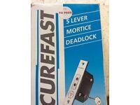75MM Mortice Dead Lock. Conforms to BS 3631