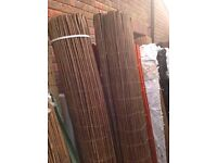 Thick willow screening 4m long rolls