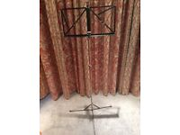 Folding Sheet Music Stand. Excellent Condition.