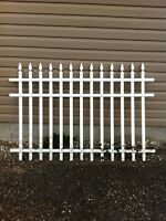 MAINTENCE FREE PVC FENCING OR DECK RAILING