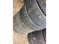 TYRE SHOP 205/55/16c 195/65/16c 225/65/16c commercial van Tyres Partworn tires used tire specialist