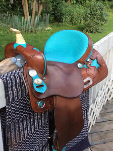 Selle Western de baril, Americain Saddlery - Congress Collection