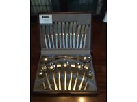 Viners stainless steel 44 piece dinning cutlery set - NEW