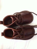 New leather Janie and Jack boys shoes - size 5