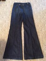 Women's/Ladies 7 For All Mankind Jean High Waist Size 26